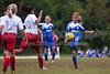 TCYSA 02 LADY TWINS BLUE vs EAST WAKE 02 LADY HAMMERS-WHITE Winston Salem Twin City Classic Soccer Tournament Sunday, August 18, 2013 at BB&T Soccer Park Advance, North Carolina (file 111757_803Q3851_1D3)