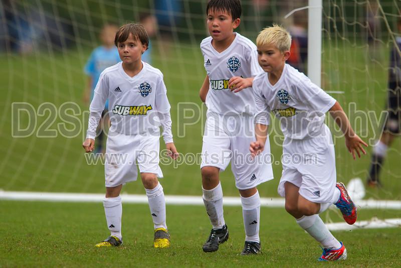 TCYSA 03 TWINS vs FCCA U10 CABARRUS BOYS WOLVES Winston Salem Twin City Classic Soccer Tournament Saturday, August 17, 2013 at BB&T Soccer Park Advance, North Carolina (file 144651_BV0H0725_1D4)