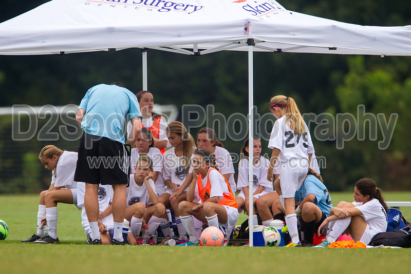 U13 GIRLS ECNL NCSF vs MCLEAN YS Saturday, September 21, 2013 at BB&T Soccer Park Advance, North Carolina (file 104612_BV0H7265_1D4)