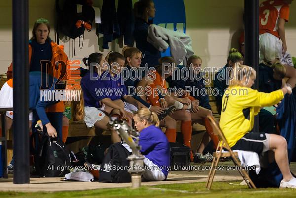 Clemson Lady Tigers vs Auburn Tigers Women's Soccer