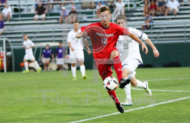 Hartford midfielder/defender Michael Balzan (12)