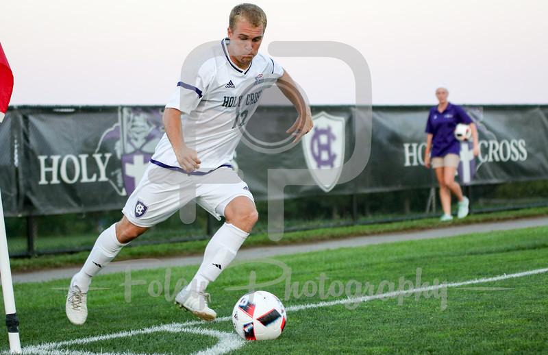 Holy Cross Crusaders midfielder Joseph Metzger (12)