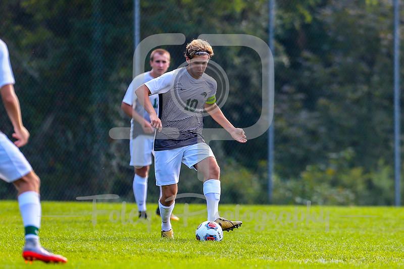 Nichols College Bison midfielder Gregory Giglio (10)