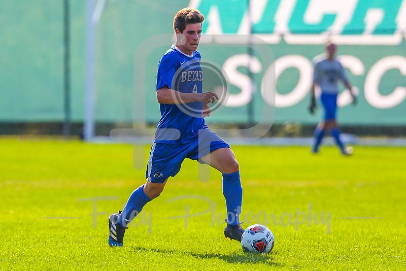 Becker College Hawks midfielder Matthew Hillsberg (4)