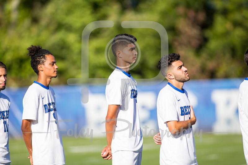Becker College Hawks midfielder Cody Lavallee (7)