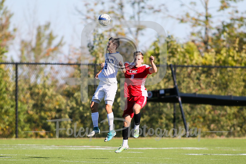 Becker College Hawks forward Colby Koch (2)