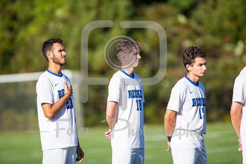 Becker College Hawks defender Ryan Jacksin (18)