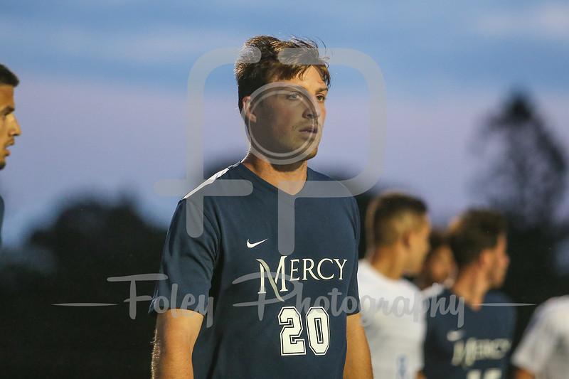 Mercy College Mavericks forward Danny Gavin (20)