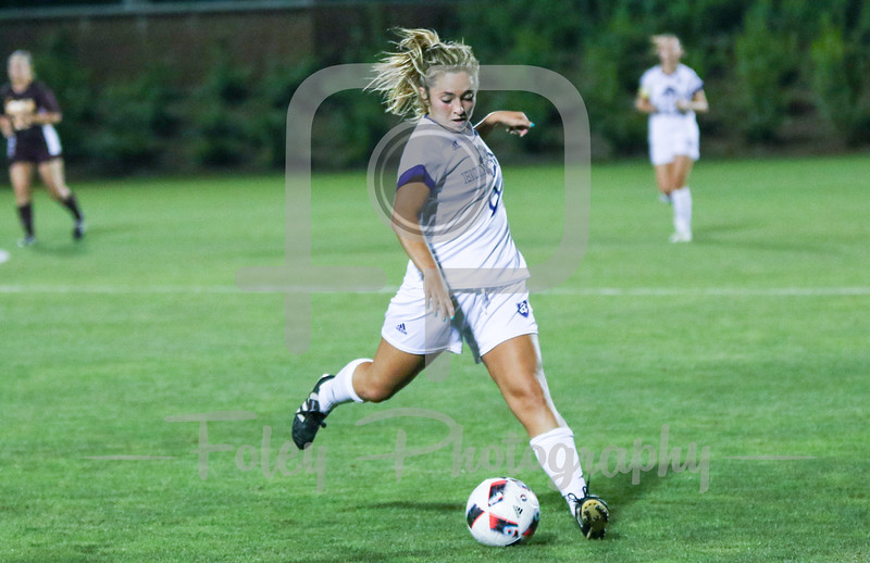 Holy Cross Crusaders forward Courtney Cohen (9)
