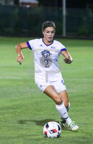Holy Cross Crusaders midfielder Lily Puccia (2)