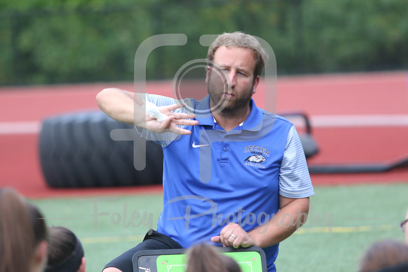 Becker College Hawks head coach Anthony Cosky