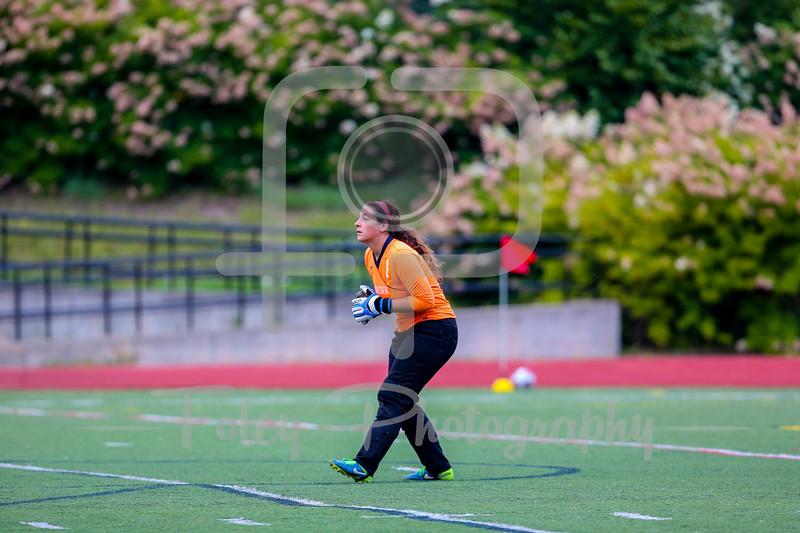 Becker College Hawks goalkeeper Jordyn Martel (1)