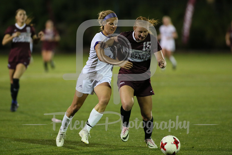 Holy Cross Crusaders Kelly Crowley (10) Colgate Raiders Claire Micheletti (15)