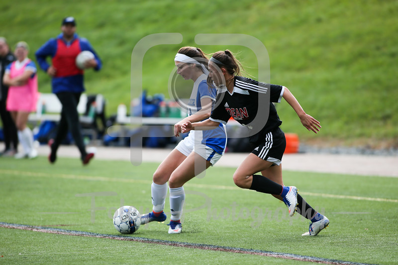 Becker College Hawks midfielder Korra Joubert (14)