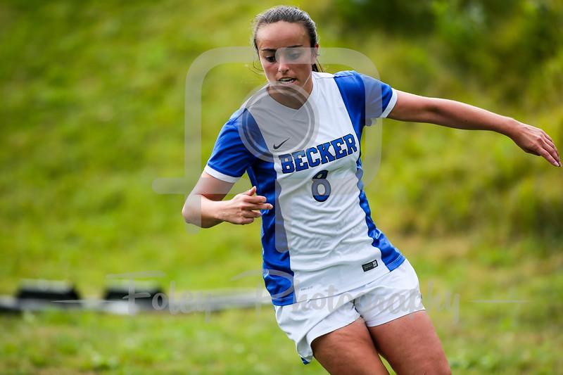 Becker College Hawks forward Lindsey Keith (8)