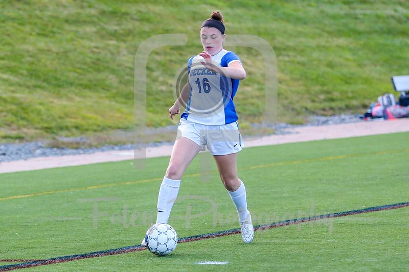 Becker College Hawks midfielder Cassandra Nelson (16)