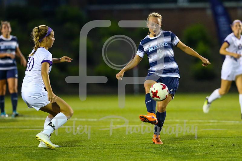 Maine midfielder Emilie Andersen (6)