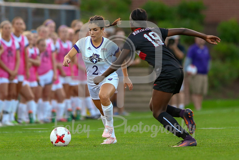 Holy Cross Lily Puccia (2) Northeastern Chelsea Domond (19)