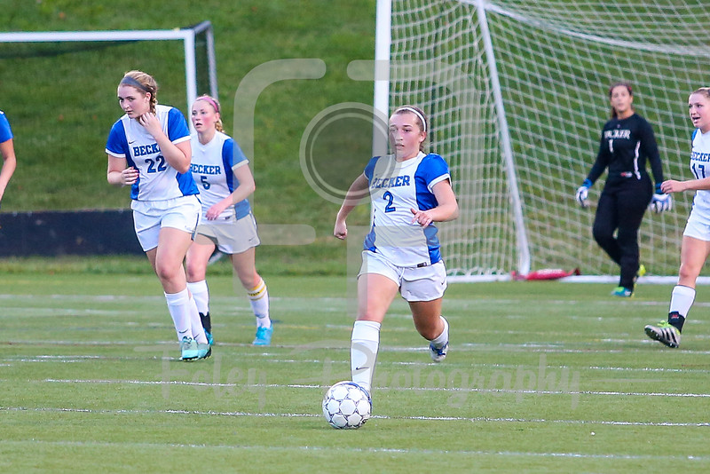 Becker College Hawks midfielder Autumn Audet (2)
