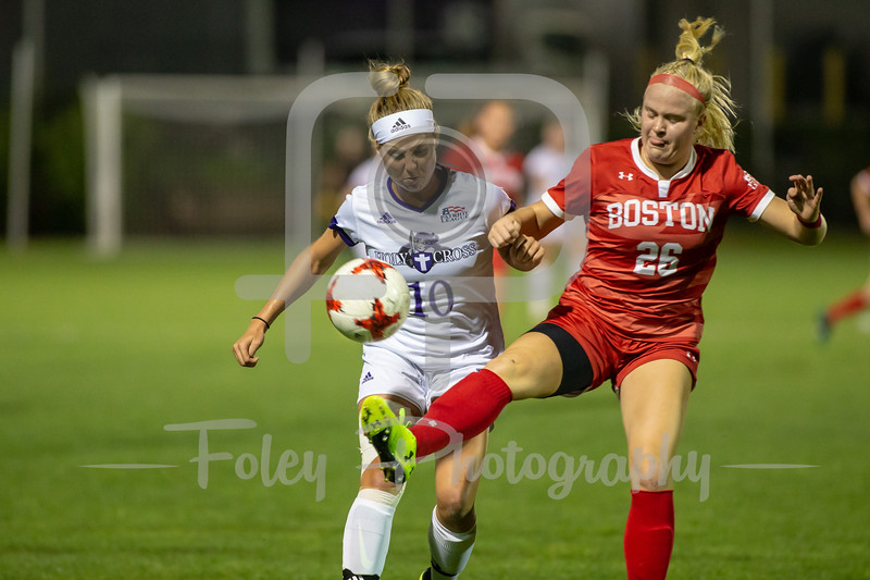 Boston University at Holy Cross