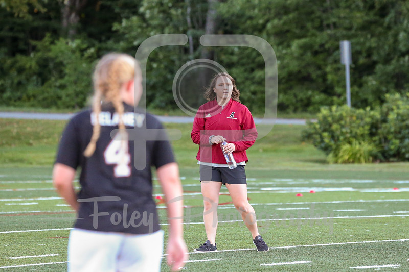 Sep. 02, 2021; Paxton, Massachusetts, USA;  during a non conference matchup between Lesley and Anna Maria College. The Lynx won the game 3-0 over the Amcats at Caparso Field. Photo by Foley-Photography.