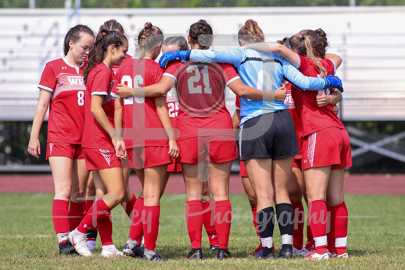 Sep. 12, 2021; North Providence, Rhode Islland, USA;  during a non conference matchup between WPI and Rhode Island College. The Engineers won the game 2-0 over the Anchorwomen at Alumni Field. Photo by Foley-Photography.