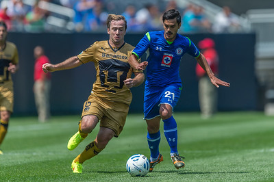 Cruz Azul vs Pumas @ Soldier Field 07.06.14