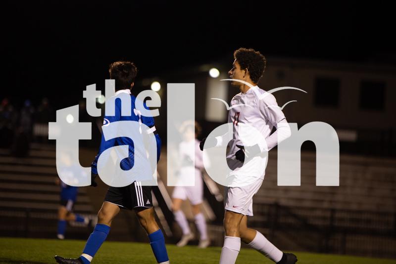 The Eagles play Decatur at Decatur High School on February 25, 2020 (Laini Ledet | The Talon News)