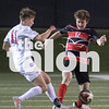 Eagles take on Midlothian Heritage in the playoffs on April 3, 2018, in Birdville, Texas. (Christopher Piel/The Talon News)