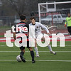Eagles soccer play against Graham in Eagles vs. Springtown at Argyle High School  Argyle , TXFebruary 8, 2019. (Karina Navarro/ The Talon News)