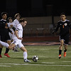 The Eagle boys soccer team defeat the Springtown Porcupines 4-0 in Springtown, TX at PoJo Stadium March 3, 2020.  (Stacy Short | The Talon News)