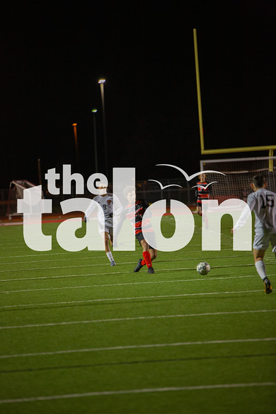 The Eagles defeat Springtown 5-0 at Argyle High School. (Alex Daggett | The Talon News)