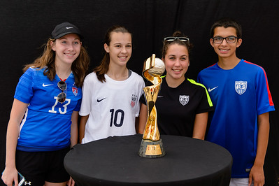Fans, Women's World Cup Trophy