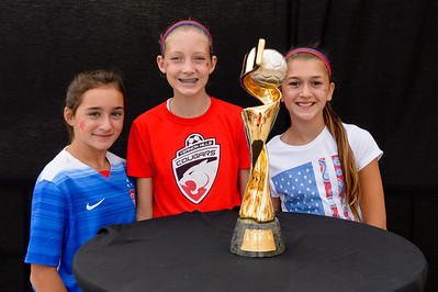 Fans, 2015 Women's World Cup Trophy