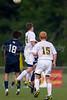 Bishop McGuinness Villains vs West Forsyth Titans Men's Varsity Soccer<br /> Forsyth Cup Soccer Tournament<br /> Friday, August 23, 2013 at West Forsyth High School<br /> Clemmons, North Carolina<br /> (file 190138_BV0H3670_1D4)