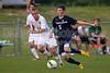 Bishop McGuinness Villains vs West Forsyth Titans Men's Varsity Soccer<br /> Forsyth Cup Soccer Tournament<br /> Friday, August 23, 2013 at West Forsyth High School<br /> Clemmons, North Carolina<br /> (file 190705_BV0H3740_1D4)