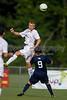 Bishop McGuinness Villains vs West Forsyth Titans Men's Varsity Soccer<br /> Forsyth Cup Soccer Tournament<br /> Friday, August 23, 2013 at West Forsyth High School<br /> Clemmons, North Carolina<br /> (file 180932_BV0H3393_1D4)