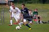 Bishop McGuinness Villains vs West Forsyth Titans Men's Varsity Soccer<br /> Forsyth Cup Soccer Tournament<br /> Friday, August 23, 2013 at West Forsyth High School<br /> Clemmons, North Carolina<br /> (file 190705_BV0H3739_1D4)