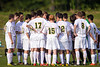 Bishop McGuinness Villains vs West Forsyth Titans Men's Varsity Soccer<br /> Forsyth Cup Soccer Tournament<br /> Friday, August 23, 2013 at West Forsyth High School<br /> Clemmons, North Carolina<br /> (file 175500_BV0H3323_1D4)