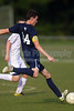 Bishop McGuinness Villains vs West Forsyth Titans Men's Varsity Soccer<br /> Forsyth Cup Soccer Tournament<br /> Friday, August 23, 2013 at West Forsyth High School<br /> Clemmons, North Carolina<br /> (file 181358_BV0H3413_1D4)