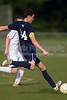 Bishop McGuinness Villains vs West Forsyth Titans Men's Varsity Soccer<br /> Forsyth Cup Soccer Tournament<br /> Friday, August 23, 2013 at West Forsyth High School<br /> Clemmons, North Carolina<br /> (file 181358_BV0H3413_1D4)