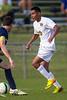 Bishop McGuinness Villains vs West Forsyth Titans Men's Varsity Soccer<br /> Forsyth Cup Soccer Tournament<br /> Friday, August 23, 2013 at West Forsyth High School<br /> Clemmons, North Carolina<br /> (file 181002_BV0H3396_1D4)