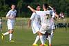 Bishop McGuinness Villains vs West Forsyth Titans Men's Varsity Soccer<br /> Forsyth Cup Soccer Tournament<br /> Friday, August 23, 2013 at West Forsyth High School<br /> Clemmons, North Carolina<br /> (file 181044_803Q4359_1D3)
