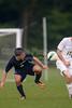 Bishop McGuinness Villains vs West Forsyth Titans Men's Varsity Soccer<br /> Forsyth Cup Soccer Tournament<br /> Friday, August 23, 2013 at West Forsyth High School<br /> Clemmons, North Carolina<br /> (file 191135_BV0H3785_1D4)