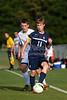 Bishop McGuinness Villains vs West Forsyth Titans Men's Varsity Soccer<br /> Forsyth Cup Soccer Tournament<br /> Friday, August 23, 2013 at West Forsyth High School<br /> Clemmons, North Carolina<br /> (file 180650_803Q4345_1D3)