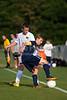 Bishop McGuinness Villains vs West Forsyth Titans Men's Varsity Soccer<br /> Forsyth Cup Soccer Tournament<br /> Friday, August 23, 2013 at West Forsyth High School<br /> Clemmons, North Carolina<br /> (file 180649_803Q4344_1D3)
