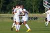 Bishop McGuinness Villains vs West Forsyth Titans Men's Varsity Soccer<br /> Forsyth Cup Soccer Tournament<br /> Friday, August 23, 2013 at West Forsyth High School<br /> Clemmons, North Carolina<br /> (file 181045_803Q4362_1D3)
