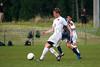 Bishop McGuinness Villains vs West Forsyth Titans Men's Varsity Soccer<br /> Forsyth Cup Soccer Tournament<br /> Friday, August 23, 2013 at West Forsyth High School<br /> Clemmons, North Carolina<br /> (file 190925_803Q4413_1D3)