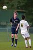 Bishop McGuinness Villains vs West Forsyth Titans Men's Varsity Soccer<br /> Forsyth Cup Soccer Tournament<br /> Friday, August 23, 2013 at West Forsyth High School<br /> Clemmons, North Carolina<br /> (file 190953_BV0H3773_1D4)