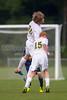 Bishop McGuinness Villains vs West Forsyth Titans Men's Varsity Soccer<br /> Forsyth Cup Soccer Tournament<br /> Friday, August 23, 2013 at West Forsyth High School<br /> Clemmons, North Carolina<br /> (file 191118_BV0H3774_1D4)